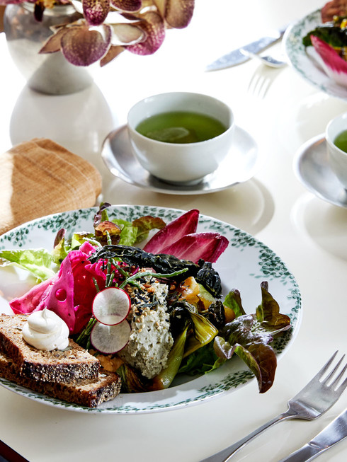 Japanese influences in Svenskt Tenn's Tea Room this autumn..