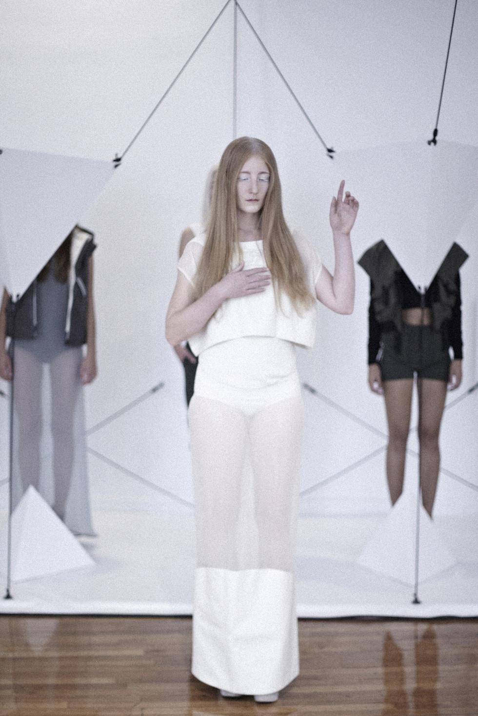 Fashionweek Paris S S 2014 The Institute Of Fashion Design Basel Odalisque Digital