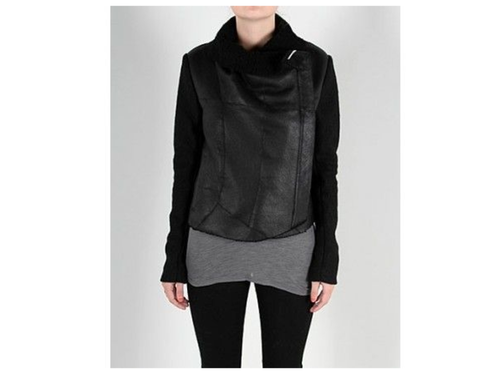 Anne Vest - Short Sheepskin & Wool Jacket