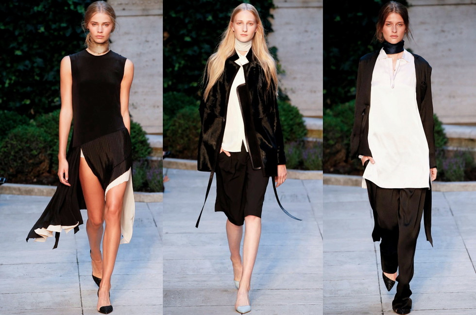 1da1c8e259b0 Here s some favorite looks from Bruuns Bazaar spring summer 16 collection  during Copenhagen fashion week. The collection over all was pretty  uninspiring but ...