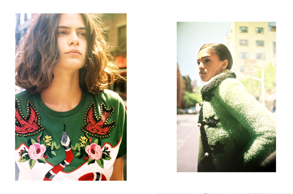 "89a03d250454f7 ""100 ways to wear Gucci"" Such a great photo story shot by Mayan Toledano  for Vogue."