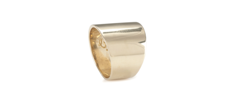 Gabriela Artigas - Cigar Band Ring