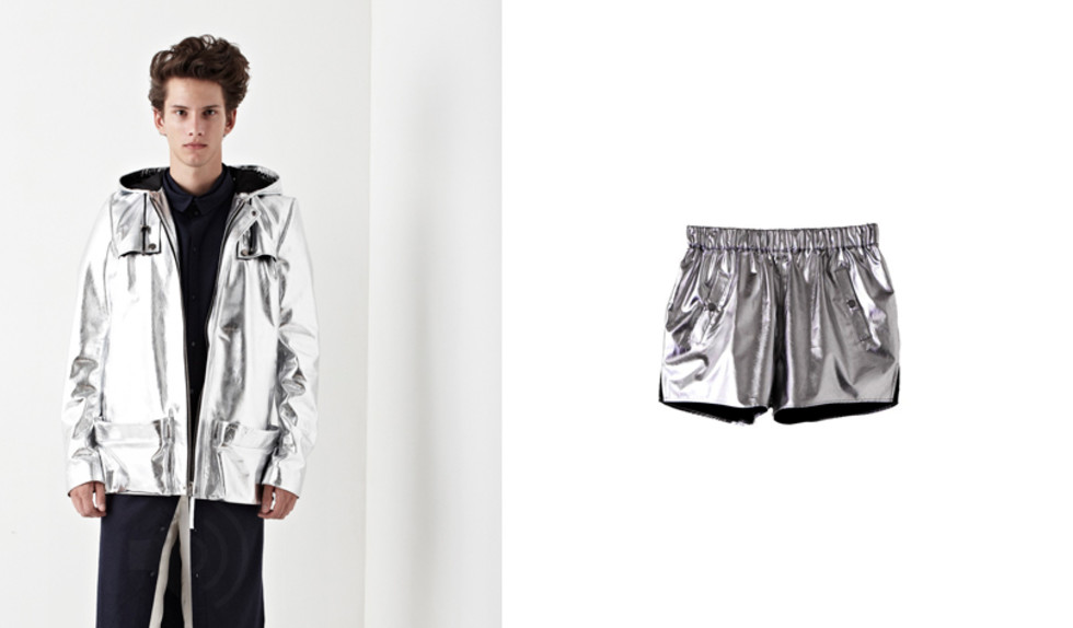 Jacket by Josefin Strid / shorts by BACK