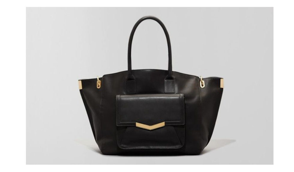 Time's Arrow - Jo Tote - Black